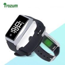 Trozum BL86 смарт-браслет сердечного ритма крови Давление Monitor Спортивные шаг Водонепроницаемый Bluetooth 4.0 браслет для IOS Android Phon