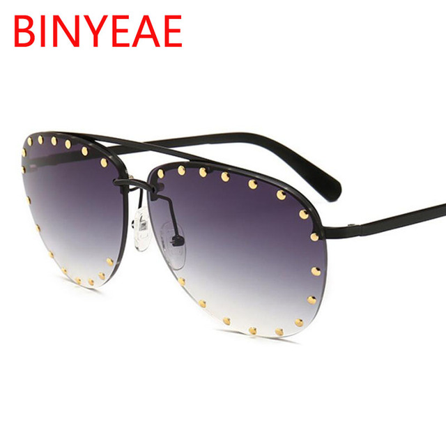 aa704100cf Pilot Sunglasses Vintage Men Women Retro Metal Frame Pink Brown Retro  Glasses Full Rivet Shades Male