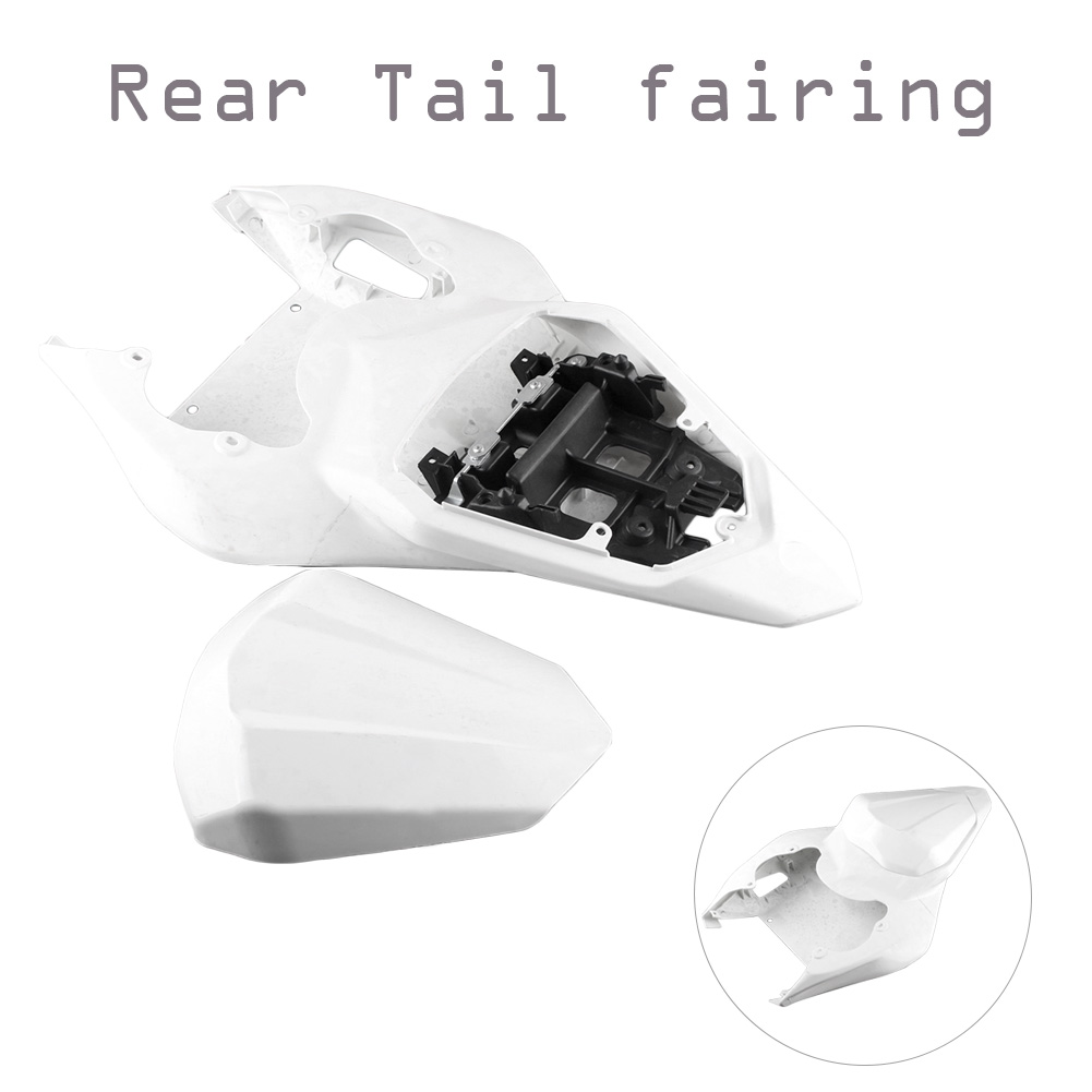 GZYF ABS plastic DIY Motorcycle Parts White Unpainted Cover Bodykits Tail Rear Fairing For Yamaha YZF R6 2006 2007GZYF ABS plastic DIY Motorcycle Parts White Unpainted Cover Bodykits Tail Rear Fairing For Yamaha YZF R6 2006 2007