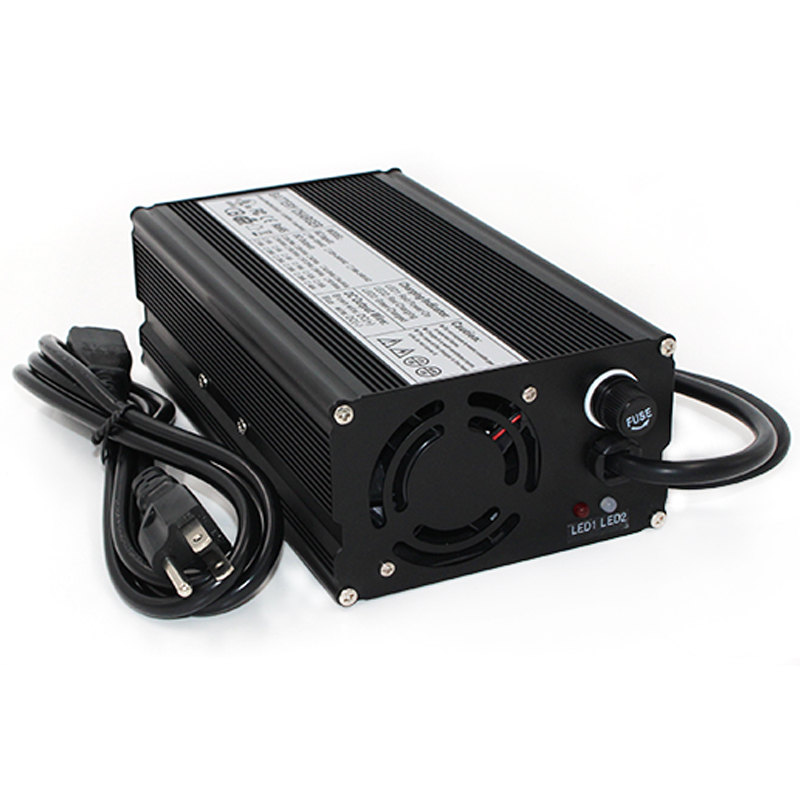 24V 14A Charger 27.6V Lead acid Battery Smart Charger Contains Wide Voltage settings