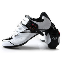 Teibao Cycling Bike Shoes Men's Road Bike Shoes Ultralight Road Bike Bicycle Shoes Breathable Cycle Shoes Equipment