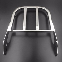 Motorcycle Sissy Bar Luggage Rack For Honda ACE 750 Spirit Aeri 1100 VLX 600 Magna Tourer
