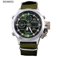 mens watches top brand luxury Quartz Dual Display Sport Military Digital watch men fashion waterproof watch new arrival 2019 все цены