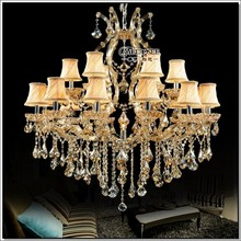 Luxury Crystal Chandelier Lighting Fixture Maria Theresa Luster Lamp Deckenleuchten for Lobby Stair Hallway project