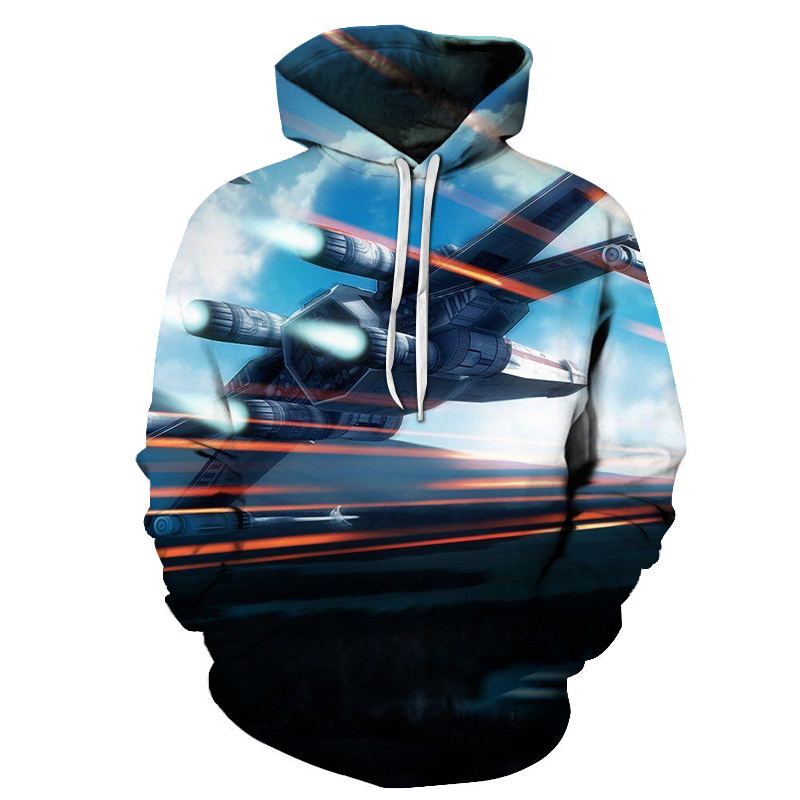 Impartial 3d Prints Fightaircraft Spring Autumn Pullover Streetwear Casual Tracksuit Polyester Cotton Mens Hoodies Drop Ship Zootop Bear Hoodies & Sweatshirts