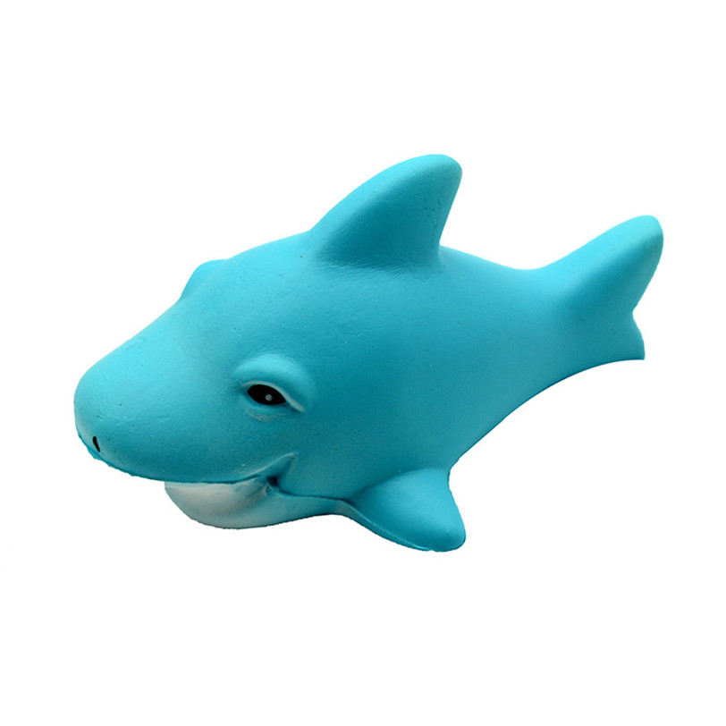 Squishy Kawaii Squishies Cartoon Shark Stress Reliever Scented Super Slow Rising Baby Kids Toy Antistress Soft Squeeze Toys #40 12cm smile squishy milk bag bottle can box squeeze fun soft slow rising stress reliever jumbo squishes pu antistress toys