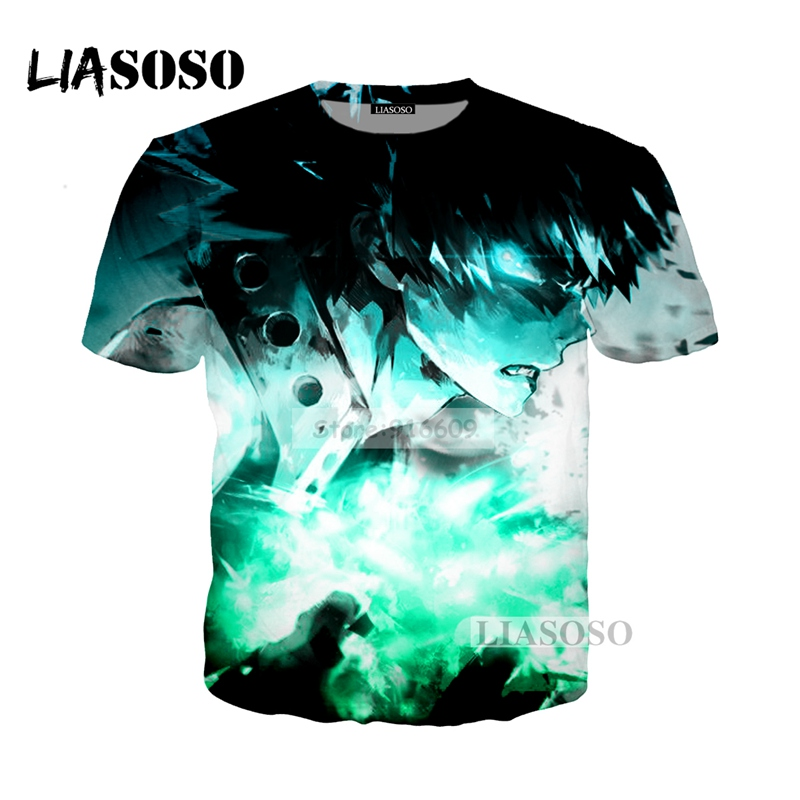 LIASOSO NEW Anime Boku No Hero My Hero Academia Cosplay Tees 3D Print t shirt/Hoodie/Sweatshirt Unisex Good Quality Tops G734