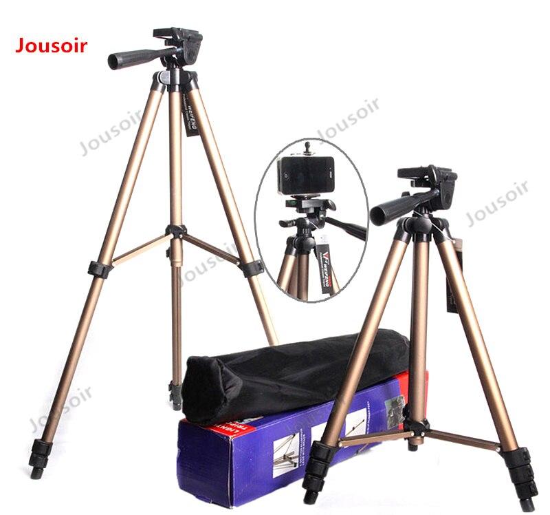 WT3130 appareil photo numérique trépied mobile téléphone bluetooth prendre un soutien direct micro DV caméra trépied CD 50 T03