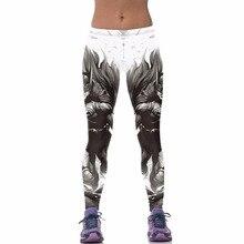 2016 3D Women Leggings Gothic Batman Pants Fitness Capris High Waist Pants Sexy Punk Workout Legins  Leggings