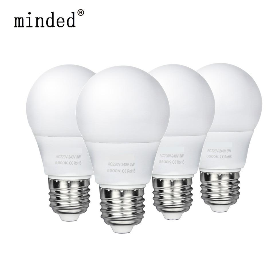 Без мерцания шарика Светодиодный лампа ac220v-240v 15 Вт 12 Вт 9 Вт 7 Вт 5 Вт 3 Вт лампада светодиодный лампы Настольные лампы лампада светодиодный …