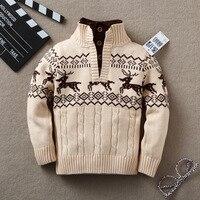 キッズボーイズ冬秋幼児赤ちゃんセーター用男の子女の子子のセーターの赤ちゃんタートルネックのセーター子供の上着セーター