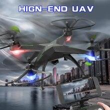 3MP WIFI RC Drone Bezgłowy 2.4G 6-osiowe Quadcopter z Kamerą HD W Czasie Rzeczywistym RC Helicopter Quadcopter Świąteczne prezenty dla dzieci zabawki