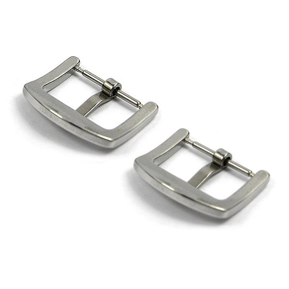 5pcs/set Watch Buckle Metal Stainless Steel Polished Brushed Watchband Strap Clasp Buckles Accessories 18mm 20mm 22mm 24mm 26mm