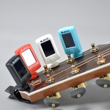 Digital Guitar Tuner Clip Universal Portable on Guitars Bass Mini LCD Tuners Violin Ukulele Musical Instrument Acessories