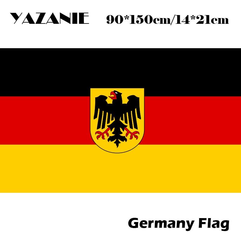 YAZANIE 90x150cm Germany Eagle Flag Country Banner German ...