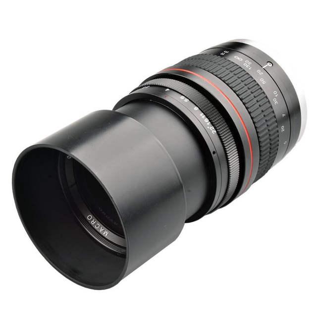 JINTU 135mm F/2 8 Telephoto Prime EF Mount Lens for Canon EOS 1300D 6D 7D  6DII 7DII 77D 760D 800D 60D 70D 80D 5DIV 5DIII Camera