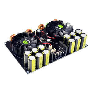 Image 5 - KYYSLB TDA8954 420W + 420W 2,0 Class D Digital Power Amplifier Board (Lüfter Kühlung) AC12.5V zu AC26V Verstärker Bord