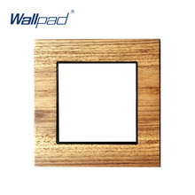 Wallpad Luxury Natural Wood Frame Real Wood Panel Only