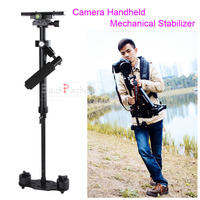 DSLR Rig Camera Accessory Portable S40 Handheld Camera Stabilizer For Video D5500 D3300 60D 70D E M10 II Movie Kit S40