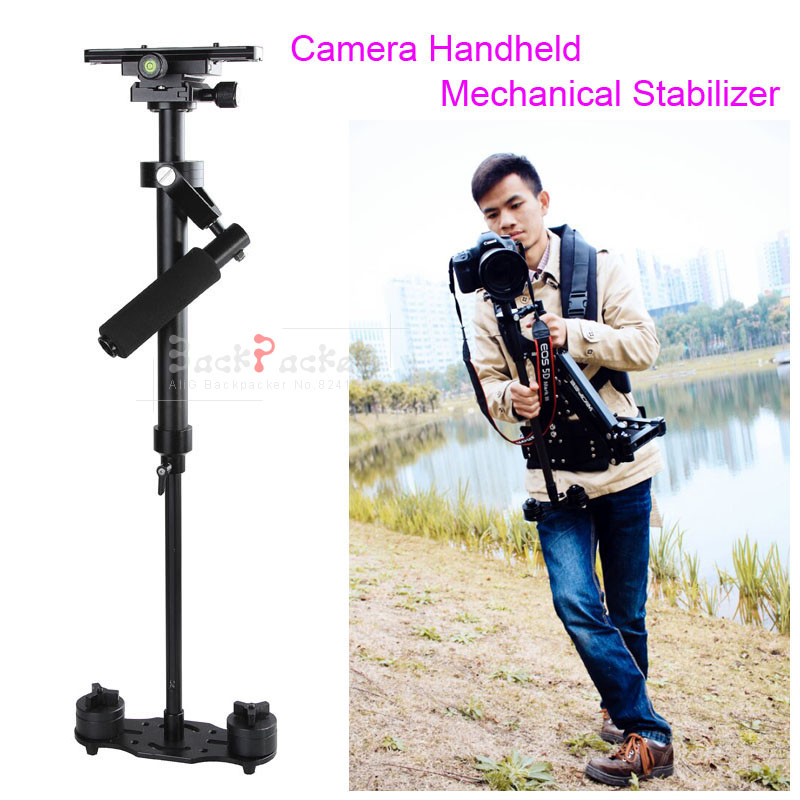 купить DSLR Rig Camera Accessory Portable S40 Handheld Camera Stabilizer For Video D5500 D3300 60D 70D E-M10 II Movie Kit S40 недорого