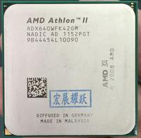 AMD Athlon II X4 640 X640 Quad Core AM3 938 CPU 100% working properly Desktop Processor