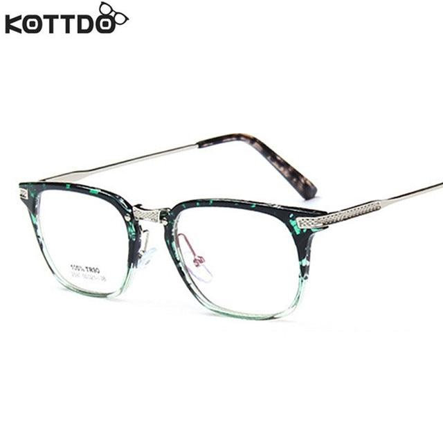 Kottdo 2017 moda retro marcos de los vidrios para los hombres y ...