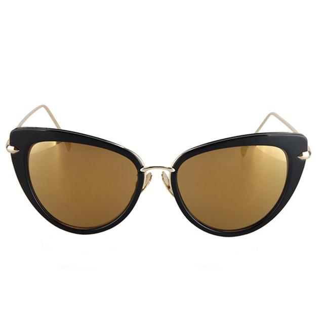 Women Cat Eye Sunglasses Vintage Sun Glasses Ladies Retro Luxury Brand Designer