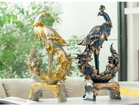 Nordic porch living room Phoenix furnishings home accessories TV wine cabinet decoration relocation gifts wedding gifts