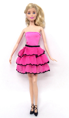 NK One Pcs 2018 Doll Clothes Beautiful Party Outfit Fashion Dress For Barbie Original Do ...