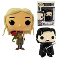 Game of Thrones Funko POP: Jon Snow Daenerys Targaryen Action Figure 10 cm 4 ''TEM Caráter Boneca
