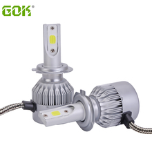 h11 h7 Led COB headlight H4 H11 H1 H3 9006 Car LED Headlight Auto fog Lamp 72W 7600LM Automobile Bulb 6500K lighting