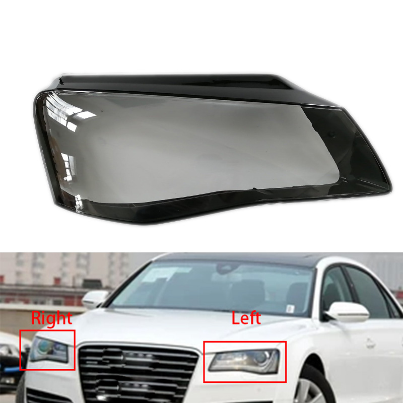 1pcs Lampshades Lamp Shell For AUDI A8 D4 2011 2013 2014
