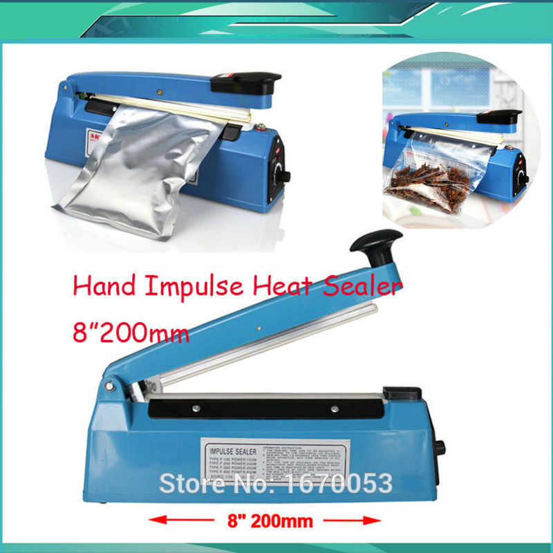 "200mm 8"" Wholesale Price 110V/220V New Heat Sealing"