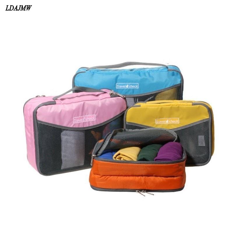LDAJMW Nylon Waterdichte materiaalgaas Reisbagage Verpakking Netto - Home opslag en organisatie - Foto 1
