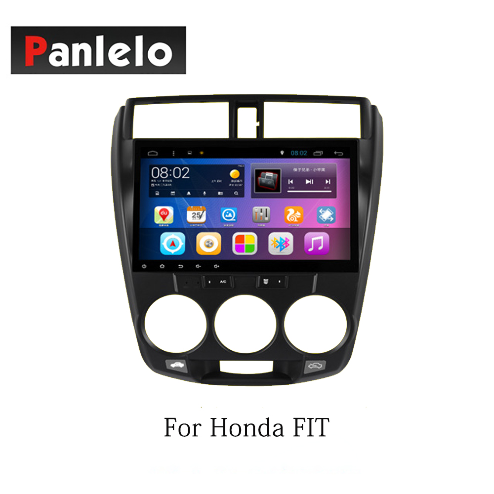 Panlelo Android 7.1 Car Stereo For Honda Fit Accord 9 Vezel Civic CRV Jade XRV Greiz Crider 2 Din Head Unit GPS Navigation