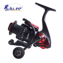 iLure New Water Resistant Spinning Reel Angel rolle 5.2: 1 6 + 1BB BM3000 Carbon Drag System Max Drag 8 KG Sea Spinning Spool
