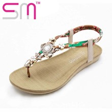 Brand New Women's Sandals Fashion Mixed Colors Flip Flops Shoes Woman Metal Charm Casual Summer Sandals Women's Shoes