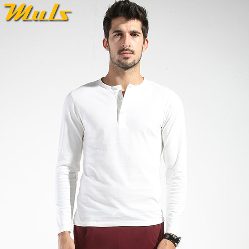 Online Get Cheap White Long Sleeve Polo Shirts Men -Aliexpress.com ...