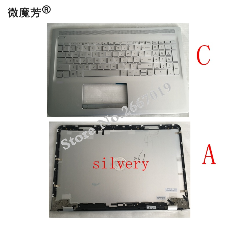 New Cover For HP for ENVY 15 AS Palmrest COVER C shell 857799 001 Laptop TOP