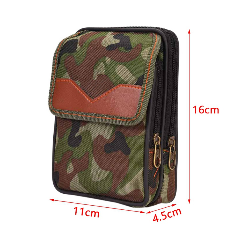 Military Waist Hunting Bag Molle Pouch Belt Camp Pocket Bag Tactical Camo Belt Pouch Bag Pack Phone Bags