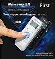 Newsmy caneta gravação primeiro rv31 micro profissional hd telefoto noise mini mp3 touch screen caneta gravação colocar fm gravação