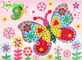 HAPPYXUAN 10pcs/lot DIY Crystal Mosaic Art Sticker Learning Educational Toys for Children Christmas New Year Gift for Kids