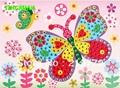 Happyxuan 10 unids/lote diy cristal mosaico pegatina aprendizaje juguetes educativos para los niños de navidad año nuevo regalo para los niños