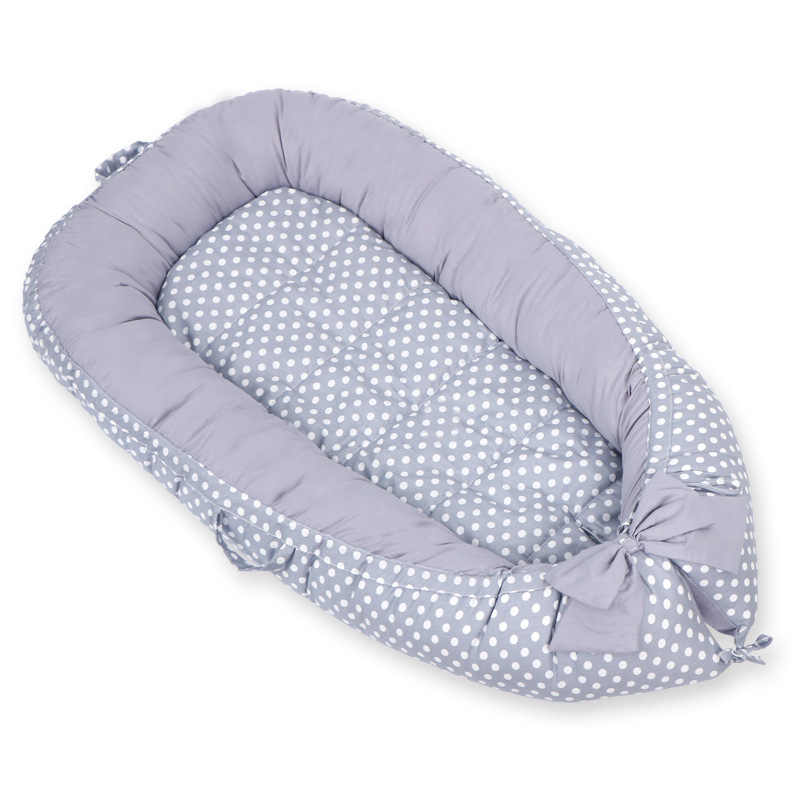 Draagbare Vlakte Nest Voor Baby Kinderbox Wieg Wieg Reizen Bed Peuter Wieg Pasgeboren Wieg Bumper