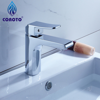 Bathroom Basin Products Chrome Finished Faucet 1501 Single Handle Bathroom Basin Faucet
