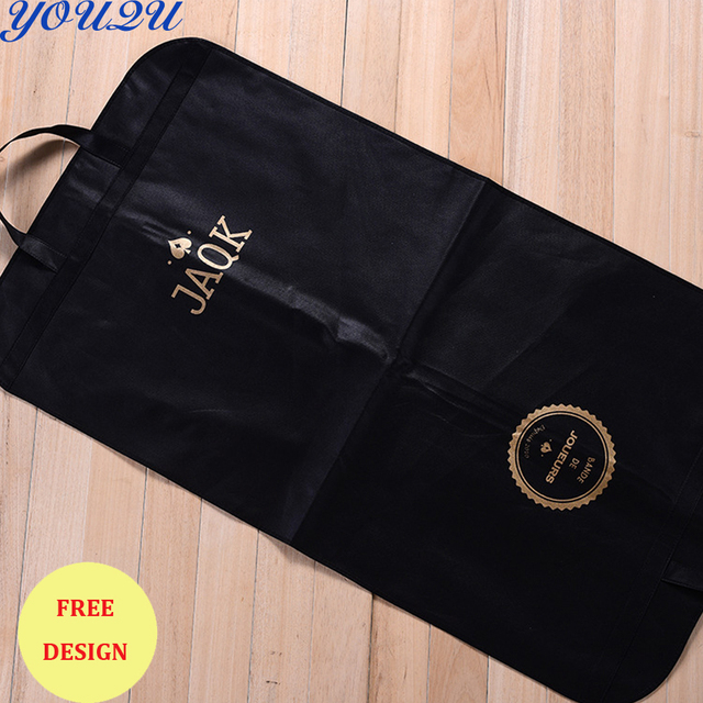 US $679 8 |OWN logo printing suit bag suit cover garment cover garment bag  lowest price escrow accepted-in Shopping Bags from Luggage & Bags on