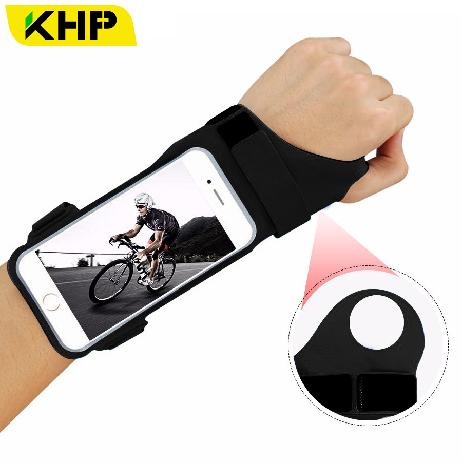 KHP NEW Fashion Running Sport Armband For iPhone 7 8 Plus X Sport Armband Outdoor Universal Jogging Waterproof Sport Armbands