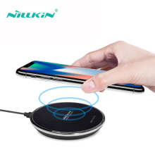 Wireless Charger Qi Fast Charging NILLKIN Mobile Phone Chargers Qi Wireless Charger Mini Pad For iPhone Xiaomi 9 Mix 2s Huawei mini qi standard mobile wireless power charger with usb cable white