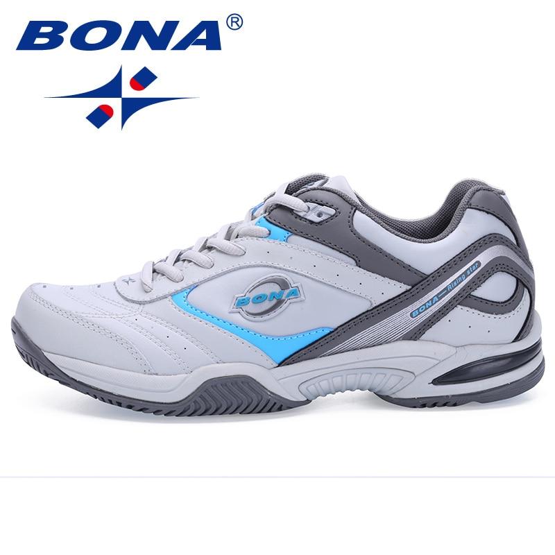 BONA New Classics Style Men Tennis Shoes Athletic Sneakers For Men Orginal Professional Sport Table Tennis Shoes Free Shipping in Tennis Shoes from Sports Entertainment