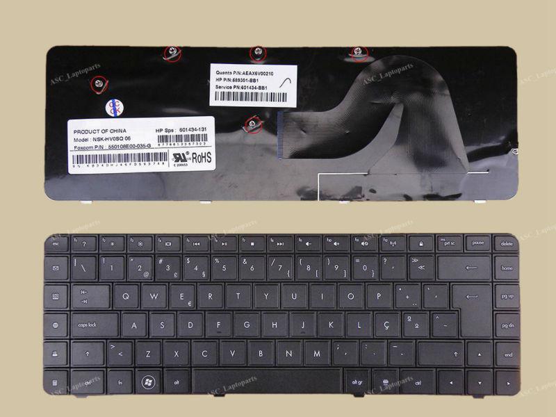G62 Series Presario CQ56 CQ62-300 New US Keyboard for HP Compaq G56 CQ62